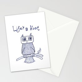 Life's a Hoot Stationery Cards