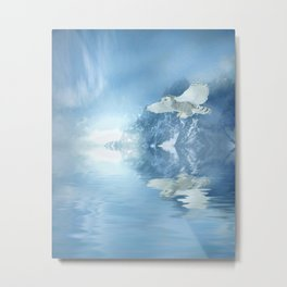Portrait of winter Metal Print