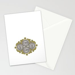 IV O'Clocks Stationery Cards