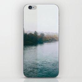 Autumn trees. iPhone Skin