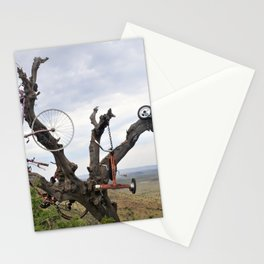 Bikes in Trees in Marfa Stationery Cards