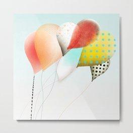 Balloons Luftballons Ballons 風船  Metal Print