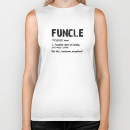 Funcle Fun Uncle Definition For Military Veterans Biker Tank