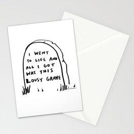 Lousy Grave Stationery Cards