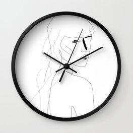 Face Of Art Wall Clock