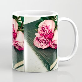Rose Book Coffee Mug