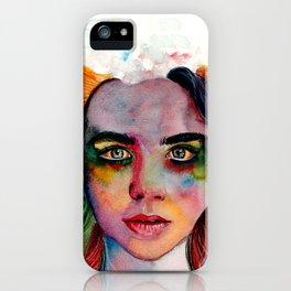 A Grieving Rainbow iPhone Case