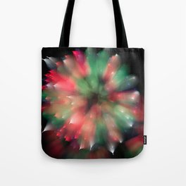 Firework Kaleidoscope  Tote Bag
