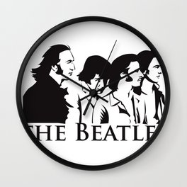 Paul, John, George and Ringo Wall Clock