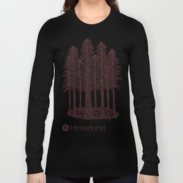 Cathedral Grove (Coastal Redwoods) Long Sleeve T-shirt