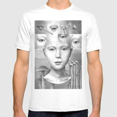 anthem for a seventeen year old series n2 Mens Fitted Tee MEDIUM White
