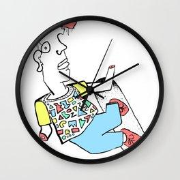A R M l e s s!   x  Skeeter Rockwell Wall Clock
