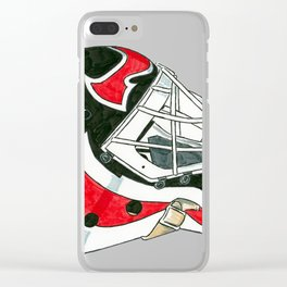 Brodeur - Mask Clear iPhone Case