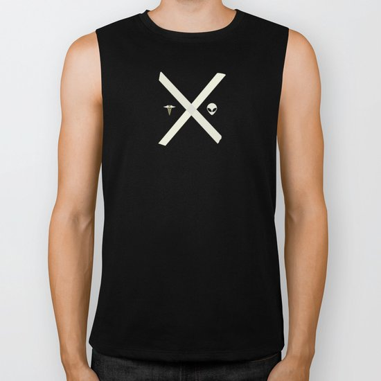 Mulder and Scully Biker Tank