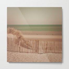 Beach dune miniature 2 Metal Print