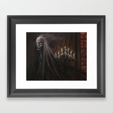 The Masque of the Red Death Framed Art Print