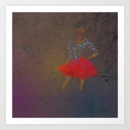 Stance-Dancer Art Print