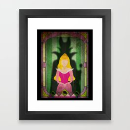 Shadow Collection, Series 1 - Crow Framed Art Print