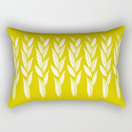 Eternity in Gold Leaf Rectangular Pillow