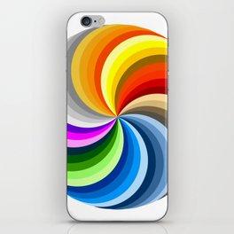 Ubuntu 36 Swirl iPhone Skin