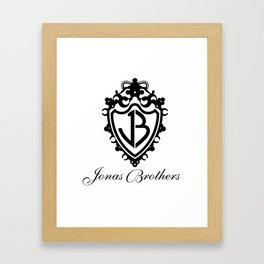 jonas brothers happiness begins tour 2019 logo nontongame Framed Art Print