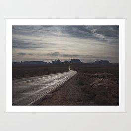Wanderlust Road - Desert Moods Art Print