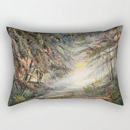 light barriers Rectangular Pillow