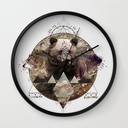 ANIMAL ECHOES Wall Clock