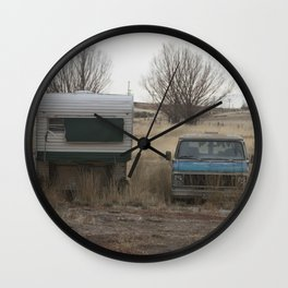 Old County Wall Clock
