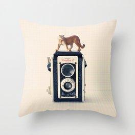 Duaflex Puma Throw Pillow