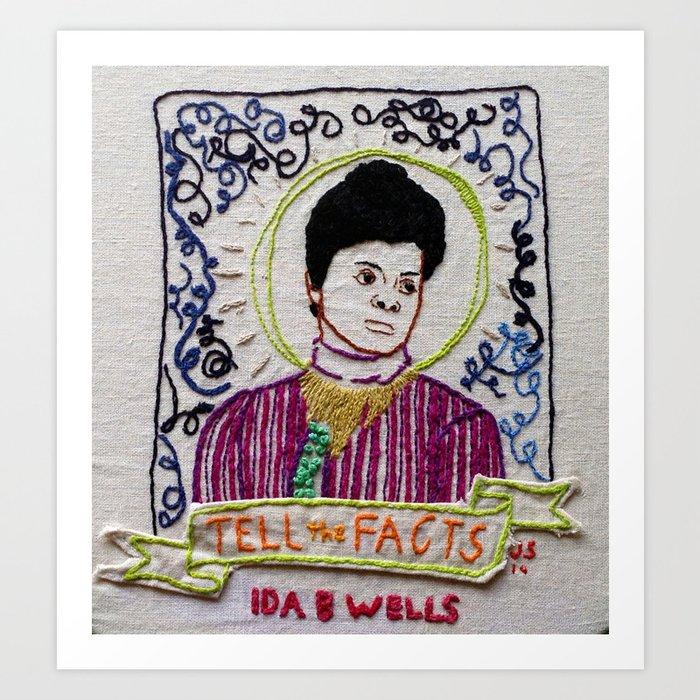 Ida B. Wells: Tell the Facts [rectangular crop] Kunstdrucke