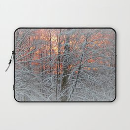 Winter Morning Laptop Sleeve