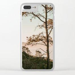 California Coastline Torrey Pines Clear iPhone Case