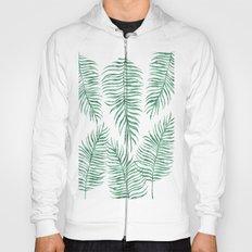 Fern Pattern Green Hoody