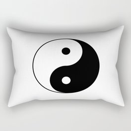 Yin Yang Taijitu Symbol Rectangular Pillow