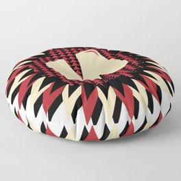 Moulded Rides Puzzle M Floor Pillow