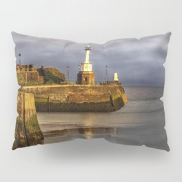 Early Morning At Maryport Harbour Pillow Sham