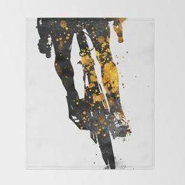 Cycling Bike sport art #cycling #sport Throw Blanket
