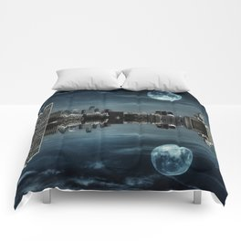 Night in the Reflection Comforters