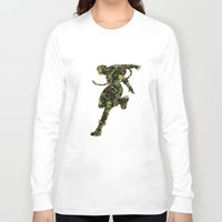 street fighter Long Sleeve T-shirts featuring Street Fighter Cammy by vanityfacade