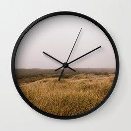 Oregon Sand Dunes Wall Clock