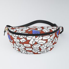 Snail Mail Red Fanny Pack