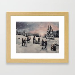 Christmas / OUAT Group Framed Art Print