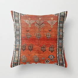 Bakhshaish Azerbaijan Northwest Persian Carpet Print Throw Pillow