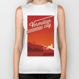 Vermilion City Biker Tank