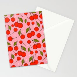Cherries on Top Stationery Cards