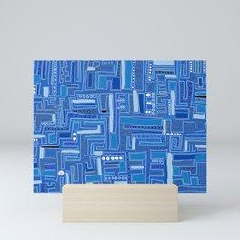 Bloo-bloo-bee-doo! Mini Art Print