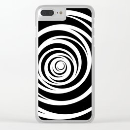 Spinnin Round Clear iPhone Case