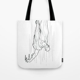 Nightmare falling Tote Bag