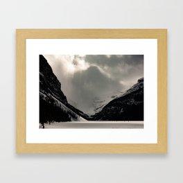Moody Louise Framed Art Print